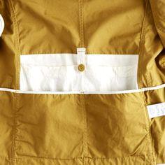 Ventile Jacket interior