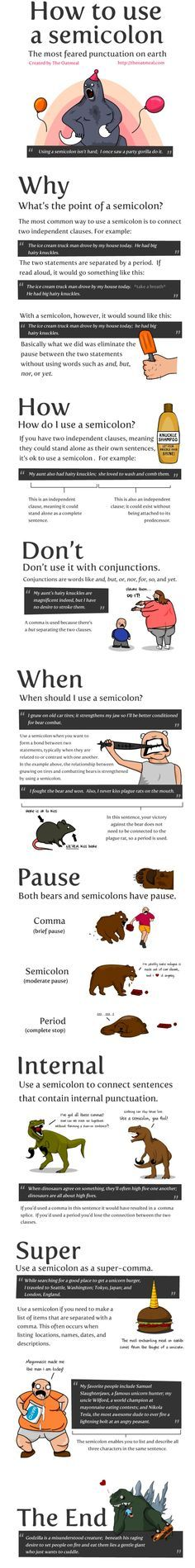 In This Lesson You Will Learn How Semicolons Can Be Used To Join Two