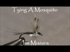 Mosquito Dry Fly Tying Instructions and How To Tie Tutorial - YouTube