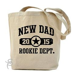 New Dad 2015 Rookie Dept Tote Bag