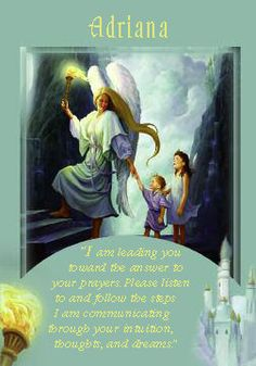 Oracle Card Adriana | Doreen Virtue | official Angel Therapy Web site