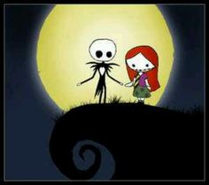 Explore the Jack and Sally collection - the favourite images chosen by MySickness on DeviantArt. Emo Pictures, Emo Pics, Jack And Sally, Studio Ghibli, Dark Side, Snoopy, Deviantart, Drawings, Cute