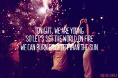 we are young | fun.