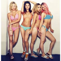Spring Breakers Picture 20 ❤ liked on Polyvore featuring pictures, spring breakers, selena gomez, vanessa hudgens and people