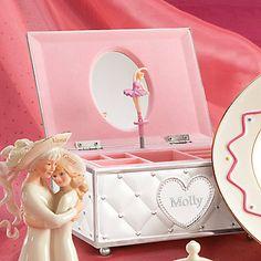Childhood Memories Ballerina Jewelry Box by Lenox