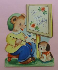 Vintage greetings card | eBay