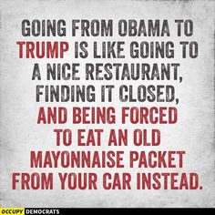 Only an Obama supporter would suck rancid condiments and claim victim status rather than just find another restaurant that was open!