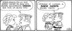 La realidad social vista a través de los ojos del personaje de Quino.