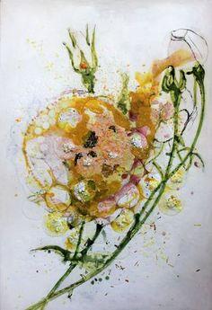 Rosa yellow (heavy flowers) Brigitte Picavet
