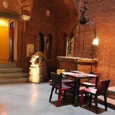 Boutique Hotel In The Historical City Center Of Siena Tuscany Modern Design Pedrali Very Ancient Together Pinterest