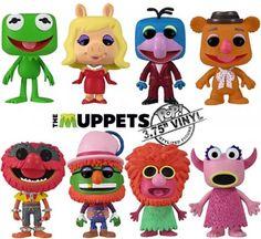 Muppets - I love the Funko Pop figures Disney Pop, Walt Disney, Pop Vinyl Figures, Funko Pop Dolls, Pop Figurine, Funk Pop, Fraggle Rock, The Muppet Show, Pop Toys
