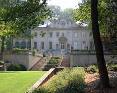 Swan House is an elegant, classically styled mansion built in Atlanta, Georgia in 1928 for the Edward H. Inman family, heirs to a cotton brokerage fortune. The architect was Philip Trammel Schutze, after whom a classical award in architecture is now bestowed each year.