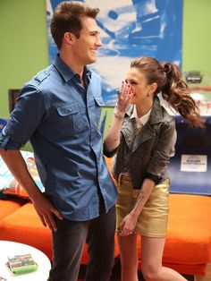 So adorables!  James Maslow and Cher Lloyd.