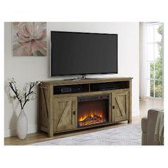 50 inch tv stand in medium brown wood with 1 500 watt Fireplace TV Stand Console Costco TV Stand Fireplace Combo