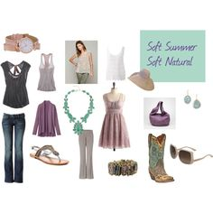 """Soft Summer Soft Natural"" by abrimager on Polyvore"