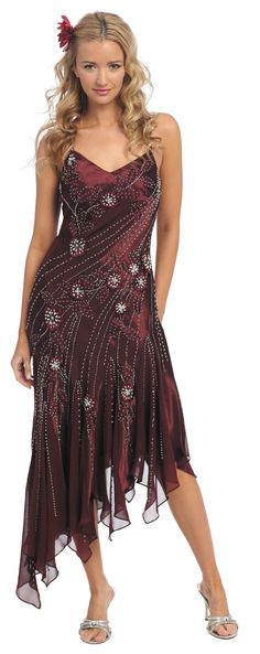 Burgundy Ballroom Dresses CLEARANCE