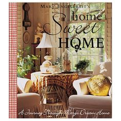 Mary Engelbreit's Home Sweet Home invites the reader on a private tour of Mary's home and offers insights about color and design.  Home Sweet Home features endless ideas on decorating, how to add lively touches to every room, and practical tips on keeping life simple.