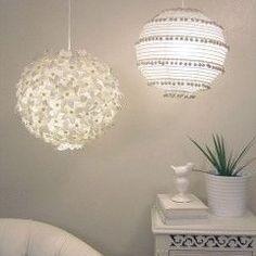 pendant light in white