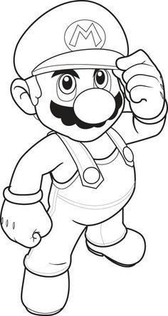 Super Mario Coloring Pages For Kids: This article brings you a number of super Mario coloring sheets, depicting them in both humorous and realistic ways. Free Printable Super Mario Coloring Pages Online Coloring Sheets For Kids, Coloring Pages To Print, Free Printable Coloring Pages, Coloring Book Pages, Drawing Sheets For Kids, Cartoon Coloring Pages, Free Printables, Coloring Pictures For Kids, Kids Colouring