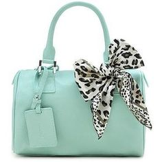 Powder blue leather handbag..kind of want this purse its only $45