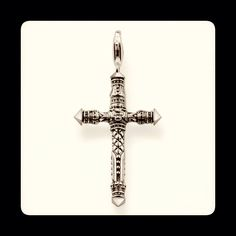 Cross pendant from Thomas Sabo's Rebel at Heart collection. Made from sterling silver. Available from RADS! #cross #pendant #silver #silverfashion #necklace  #rebel #thomassabo #toronto #torontofashion #torontojewellery #lovetoronto #yyz #yorkville #yorkvillestyle #yorkvillejewellery #fashion #style #mens #mensfashion #mensjewellery #menswear #men #gift #christmas #lovetoronto