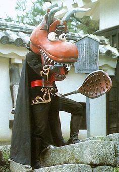 TigerRoll, enzantengyou: 牛靴仮面