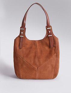 Leather Shoulder Bag | M&S