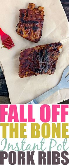 Looking for a fall off the bone, finger licking good, Instant Pot BBQ Ribs recipe? Look no further, my recipe will have your family begging for more!