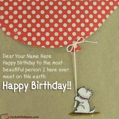 Best Online Birthday Card With Name Generator Photo On And Send Printable Happy Wishes Cards Editing Options