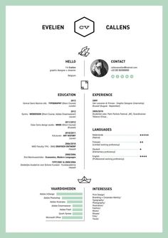 50 inspiring resume designs and what you can learn from them - Minimalist Resume Template