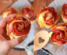 Miss Blueberrymuffin's kitchen: Pizzabrötchen waren gestern: Heute gibt es Pizza Rosen