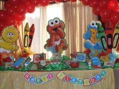 Baby Sesame Street Birthday Party