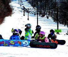 Burton Riglet Park, Smugglers' Notch, VT. #kids #family #skiing