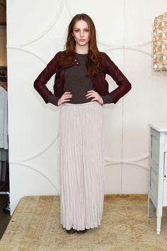 Maxi Skirts for Work Office Modern Woman 2012 Fall Trends Hide Legs http://iamnotasupermodel.com