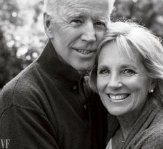 "Biden and his wife, Jill. They ask themselves, says Jill, ""What would Beau want us to do?"" (Vanity Fair October Photograph by Annie Leibovitz."