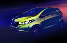 Datsun releases the sketch of its upcoming concept car ! #DatsunConcept
