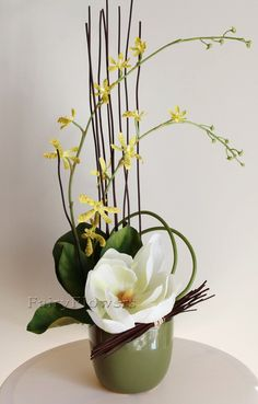 Table Flower Arrangements - Fairy Flowers - The Wedding Flowers Specilaist