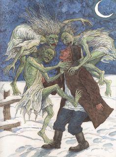 Ератники — в белорусской и русской мифологии проклятые колдуны, обреченные после смерти возвращаться упырями, вредить людям или друг другу