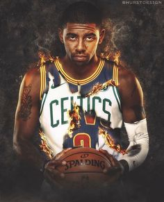 Kyrie Irving edit from Cavaliers to Celtics....well I don't like the Celtics but I love kyrie