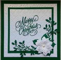 Inspiration | docrafts.com Lovely classic card spotted on docrafts gallery.