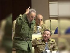 Cuba's leader Fidel Castro votes in favor of the modification on the Cuban Constitution on June 26 2002