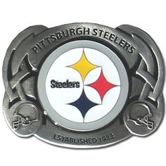 "Checkout our #LicensedGear products FREE SHIPPING + 10% OFF Coupon Code ""Official"" Pittsburgh Steelers Team Belt Buckle - Officially licensed NFL product Licensee: Siskiyou Buckle Fully cast, metal buckle Bail fits belts up to 2 inches wide Exceptional detail with an enameled finish Pittsburgh Steelers buckle - Price: $23.00. Buy now at https://officiallylicensedgear.com/pittsburgh-steelers-team-belt-buckle-sfb160"