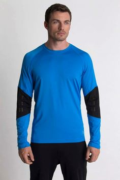 Charged Cationic Long Sleeve Energize your workout in this cationic jersey long sleeve performance shirt.