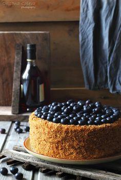 Honey cake (recipe in Russian) Медовик - Совёнкин журнал