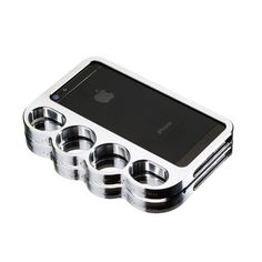 (15) Fab.com | Knucklecase iPhone 5 Silver