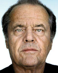 Jack Nicholson (2002) / by Martin Schoeller Sanguíneo