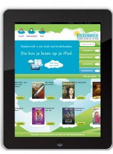 Online lezen, doen jouw kinderen dat al? Boekenwolk is een digitale bieb. Er zweven honderden kinderboeken van bekende uitgeverijen in Boekenwolk.  Voor een vast bedrag per maand kan jouw gezin onbeperkt lezen op de iPad.  Boekenwolk is voor kinderen van 0 tot 15 jaar en is kindvriendelijk en veilig. Het aanbod is nu nog een beetje beperkt, maar er komen steeds meer boeken bij.  Heb je een iPad? Neem een kijkje op www.boekenwolk.nl en ontdek hoe leuk het is om online te lezen!