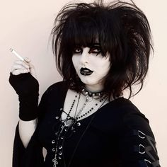 #tradgoth #goth #80sgoth #gothic Dark Fashion, Gothic Fashion, 80s Goth, Monsters, Punk, My Favorite Things, Sexy, Clothing, Outfits