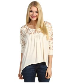 $25.99 ~ Christin Michaels Bassen Hi-Lo Top