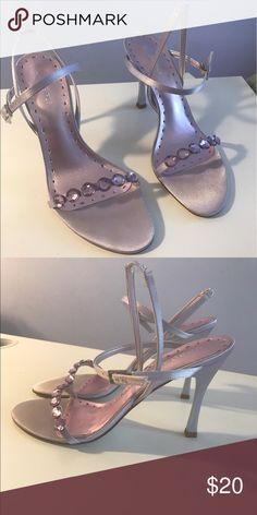BCBGirls heels Light purple heels, size 9, worn twice BCBGirls Shoes Heels